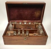 Antique Apothecary Box By Lynch Of London Pharmacists Cabinet Doctors Box