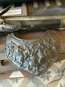 Armour Collar Piece Gorgerin French Viollet Le Duc Heavy Iron