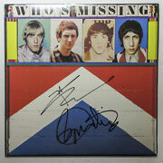 Roger Daltrey Pete Townshend Signed The Who Who's Missing Album Exact Proof Jsa