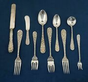Schofield Baltimore Rose Sterling Silver Place Setting - Free Shipping Usa