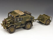 Mib King And Country Morris C8 Field Artillery Tractor And Limber D-day Dd202