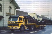 Truck Photo Mb Ng Semitrailer Truck Loaded With New 6x4 Tractors – 10x15cm /lf37