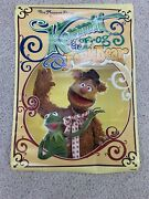 Vintage The Muppet Show Kermit The Frog And Fozzie Bear Poster 1977 Scandecor