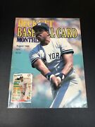 Beckett Baseball Magazine August 1988 Issue 41 Dave Winfield On Cover