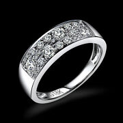 18ct White Gold Natural Diamonds Classic Eternity Ring