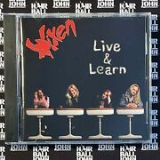 Vixen - Live And Learn 2007 Very Rare Cd + Hair Metal Gifts