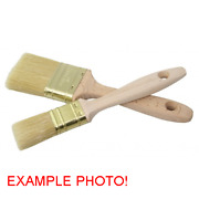 Marine Boat Flat Brush 30mm Wide With Wooden Handle