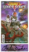 Donald Trump Space Force Fr Borman Ch Duke Signed Comic