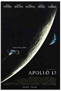 Fred Haise Signed Apollo 13 Movie Poster Of The Moon