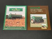 Great Plains Buyers Guide Dealer's Brochure And Solid Stand No-till Drill 7' And 10