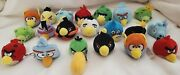 Angry Birds Set Of 20 Plush Finger Puppet Pencil Toppers 2 Birds