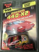 New Tyco Magnum 440-x2 Kelloggs Corn Flakes 5 Ho Scale Slot Cars Afx Tomy Nice