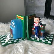 Betty Boop King Features Vintage 1998 Rare Diner Bookstands