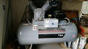 Ingersoll Rand T30 Electric Air Compressor,2 Stage,10 Hp, 7100e15