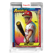 Topps Project 70 79 Mike Trout By Alex Pardee 🔥 In Hand Ships Today
