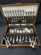 State House Sterling Silver Flatware Stately Set 59 Pieces W/ Original Box