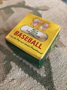 Vintage J Debeer And Sons Official Babe Ruth League Baseball Ball In Box Antique