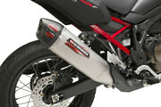 Yoshimura Exhaust Street Rs-12 Slip-on Ss-ss-cf Works 2020 - Crf1100ld Africa Tw