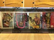 1985 Topps Wwf Rack Pack Hulk Hogan 1 Rc On Top Bbce Authenticated And Sealed