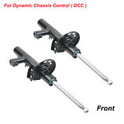 2x Front Shock Absorber W/ads For Vw Golf 09-12 Eos Scirocco 08-18 Passat 11-15