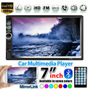 7 Inch Double 7018b 2 Din Car Fm Stereo Radio Mp5 Player Touch Screen Bluetooth