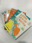 New Beginner Books Lot Of 5 Books With 2 Posters