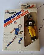 1977 Nfl Action Team Mate Terry Bradshaw 12 Steelers Misb Sealed - Pro Sports