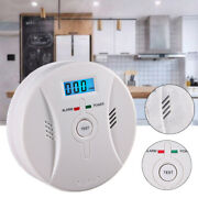 Carbon Monoxide Co And Smoke Fire Photoelectric Combination Detector Alarm 2in1