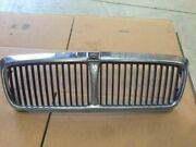 93 94 Jaguar Xj12 Grille Left Plastic Piece Is Broken And Missing Screw As Is