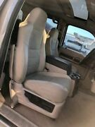 08 Ford F450 Super Duty 4dr Power Front Seats W Center Console/rear Seat/carpet