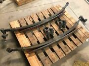 96-16 Chevrolet Express Van 3500 Used Right And Left Rear Leaf Spring Set Pair 78k
