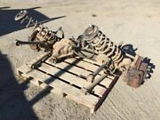 03 Dodge Ram 3500 5.9l 4x4 Used Complete Front Axle Suspension 3.73 W Brakes