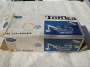 A Vintage 1960and039s Tonka Toys No 534 Trencher Stunning Condition / Boxed