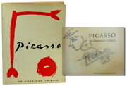 John Richardson / Picasso An American Tribute Signed 1962