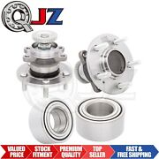 [front2 And Rear2] New Wheel Hub And Bearing Bundle For 2004-2006 Kia Amanti Fwd