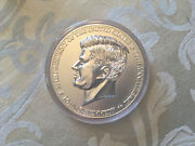 Jfk 50th Anniversary Silver Enriched Commemorative Proof 3.5 Coin Medal
