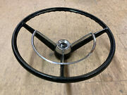 1963 Ford Falcon Steering Wheel And Horn Button