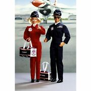 Barbie And Ken Doll Air Force Stars N Stripes Deluxe Set