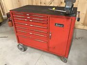 Snap On Rollaway Tool Chest - Vintage 50and039s/60and039s Era Tamale Wagon Taco Cart