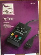 Home Accents Halloween Fog Timer Prop Haunted Mansion