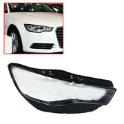 Right Side Headlight Light Lens Covers Fit For Audi A6 C7 2015 2016 2017