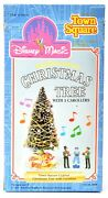 Disney World Town Square Lighted Musical Christmas Tree And Carollers Nib E915