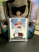 19-20 Ud The Cup Nick Suzuki 3 Clr Rookie Patch Auto 53/99 Montreal Rpa 64