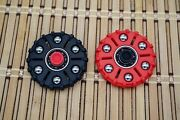 C.d. Peterson Xenospin Fidget Spinners 1-red And 1-black Custom Made Spinners
