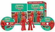 The Adventures Of Gumby The And03960s Series Volume 2 With Bendable Blockheads Toys