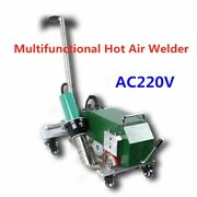 40mm Multifunctional Hot Air Welder For Coated Fabric Ac220v Fastest Speed