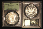 1880-s 1 Ms65dmpl Pcgs-blast White And Cameo-only 281 Finer Morgan Dollar
