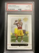 2005 Topps Aaron Rodgers Rookie Rc 431 Psa 10 Gem Mint