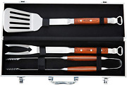 Bbq Tool Set Andndash Grill Tool Set 3pcs Andndash Grill Utensil Set Stainless Steel With