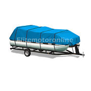Tahoe Classic Rear Fish 24and039 Premium Trailerable Pontoon Boat Cover